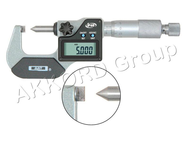 micrometru cu bacuri lama-varf
