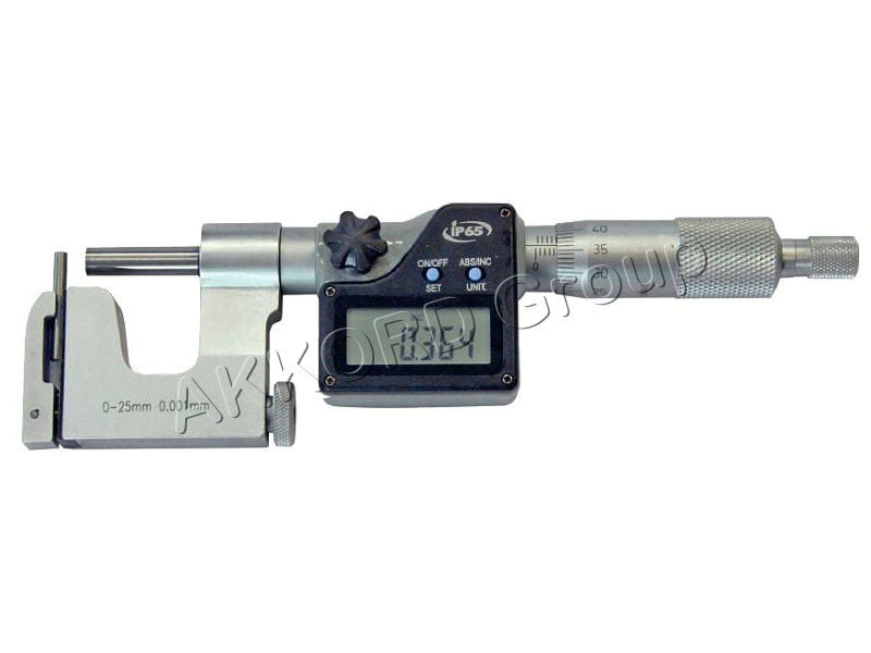 Micrometru masurat grosimi pereti teava